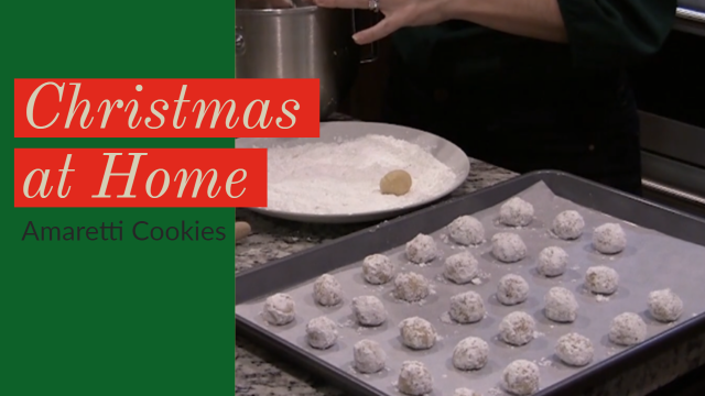 Christmas at Home: Amaretti Cookies